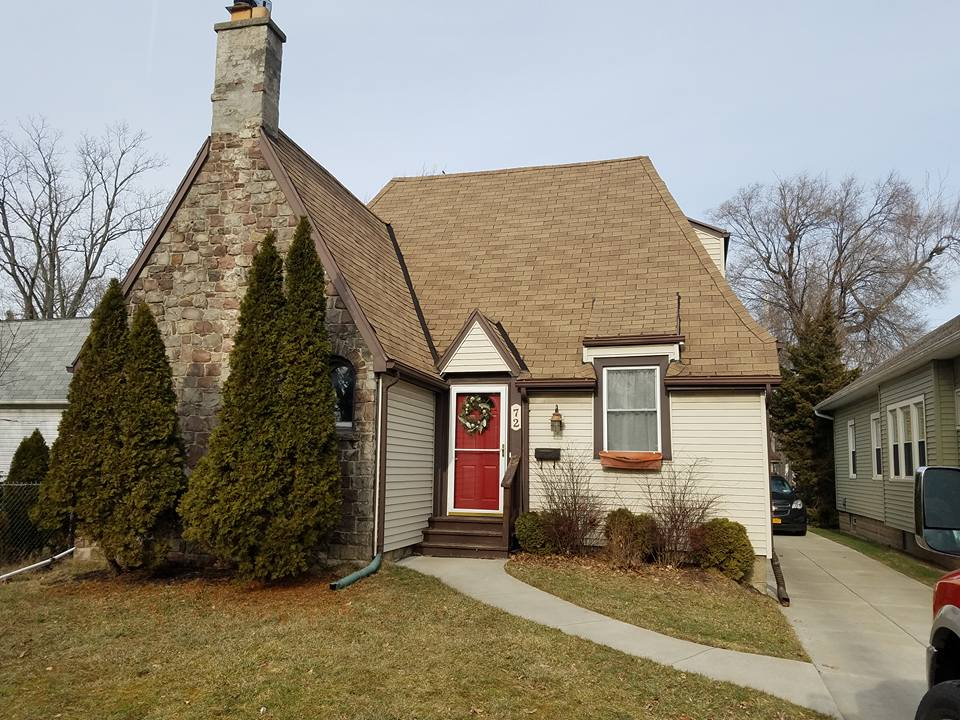 Home in Depew, NY with new roof