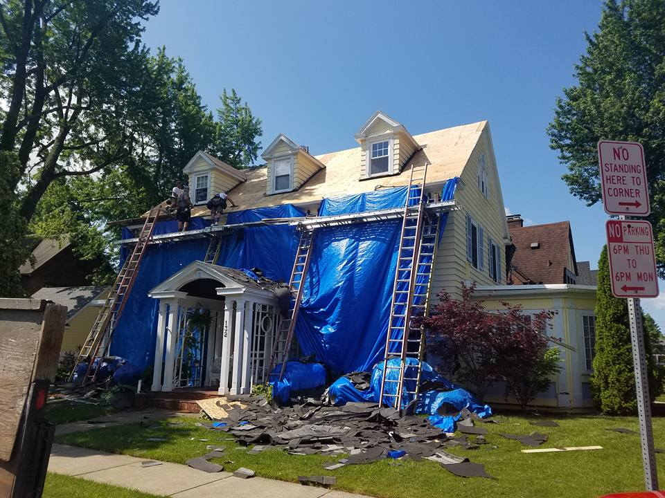 House getting remodeled in West Seneca